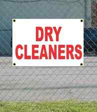 2x3 Dry Cleaners Red Amp White Banner Sign New Discount Size Amp Price Free Ship