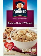Quaker Oatmeal Raisin, Date & Walnut Instant Hot Cereal
