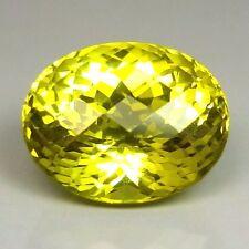 TOP LEMON CITRINE : 45,31 Ct Natürlicher Lemon Citrin aus Brasilien