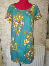 JOULES  summer cotton long loose fitting  tunic top size 10