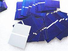 100pcs Solar Panel 39*31.2mm Solar Cell Solar Power Charger Battery DIY US NEW