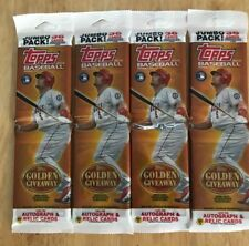 (4) 2012 Topps Series 2 Jumbo Packs 36 cards ea    Possible   Bryce Harper RC