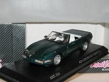 Detail Cars 214, Chevrolet Corvette C4 ZR-1 Convertible, 1990, grün, 1/43, OVP
