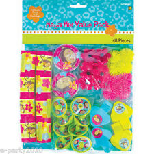 MONKEY LOVE FAVOR PACK (48pc) ~ Birthday Party Supplies Toys Pink Mod Filler