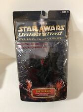 New Star Wars Attack of the Clones Unleashed DARTH MAUL Figure 2002