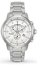Citizen Men's Eco-Drive AT2340-56A TI IP Super Titanium Chronograph Watch