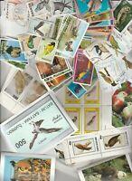 Blocks und Marken Vögel  postfrisch+gestempelt 616 22 Bilder