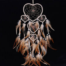 Handmade Dream Catcher feathers long car wall hanging decoration bead ornament