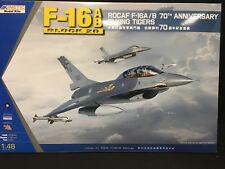 Kinetic Model Kit - 1/48 ROCAF F-16A/B 70TH ANNIVERSARY FLYING TIGERS - K48055