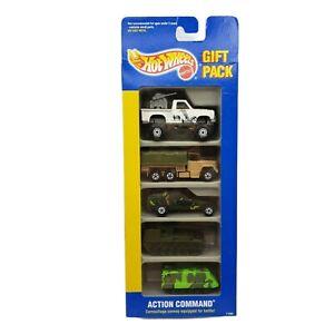1991 Hot Wheels ACTION COMMAND # 11365  5 Car Gift Pack Vintage Mattel [AC1