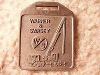 Warner & Swasey Truck Crane Watch Fob WAI-9