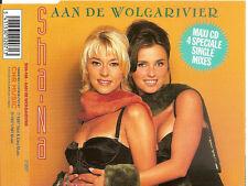 SHA-NA - aan de wolgarivier (REMIXES) MAXI-CD 4TR Europop 1997 RARE!!!