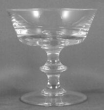 "VAL ST (SAINT) LAMBERT State Plain Sherbet Champagne Glass 4"""