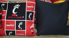 UC University Cincinnati Fabric Cornhole Bags FREE PRIORITY SHIPPING Bearcats