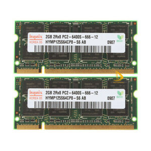 Hynix 8GB 4GB 2GB 2RX8 DDR2 800MHz PC2-6400S SODIMM Laptop RAM Memory 200Pin lot