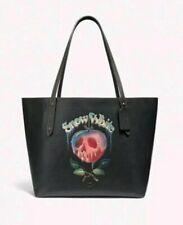 🍀Coach Disney X Snow White Poison Apple Market Tote Dark Fairy Tale 31152