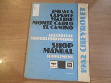 1982 CHEVROLET IMPALA ORIGINAL FACTORY SERVICE MANUAL SHOP REPAIR