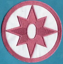"5"" Star Sapphire Lantern Corps Classic Style Embroidered Iron-On Patch"