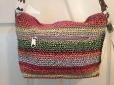 """The Sak """"Lauren"""" Women's Hand Crocheted  Handbag    Multi  ~ New   (GT004K)"""