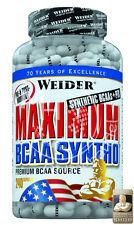 Weider Maximum BCAA Syntho (15,37€/100g) + PTK Dose 240 Kapseln BCAAs von 2:1:1