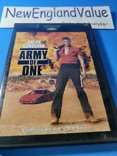 Army Of One (DVD, 2001) New, Triple Sealed, Rare, Dolph Lundgren, Full Screen