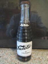 1950's Nesbitt's of California clear w horiz ribs unopened 7 fl oz bottle