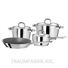 7 pièces Ikea INOX cocottes / Faitouts avec couvercle Set de casseroles