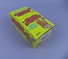 Wacky Packages Album Stickers Display Box 1986