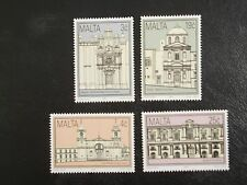 MALTA STAMPS 1992 - HISTORICAL BUILDINGS - SET OF FOUR - MINT NEVER HINGED
