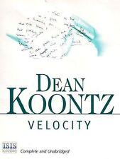 Dean KOONTZ / VELOCITY    [ Audiobook ]
