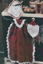 Crochet Pattern ~ PINEAPPLE DISHCLOTH, POTHOLDER & HAND TOWEL SET ~ Instructions