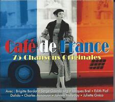 Cafe De France - 75 Chansons Originales (3CD 2012) NEW/SEALED