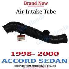 1998-2000 Honda ACCORD SEDAN EX LX SE 4Cyl Air Intake Tube  Genuine OEM