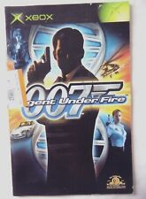 56670 Instruction Booklet - 007 Agent Under Fire - Microsoft Xbox (2002)