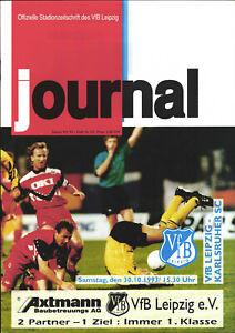 BL 93/94 VfB Leipzig - Karlsruher SC, 30.10.1993