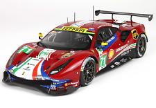 BBR P18153B - Ferrari 488 GTE Team AF Corse N°71  24H Le Mans 2018 1/18