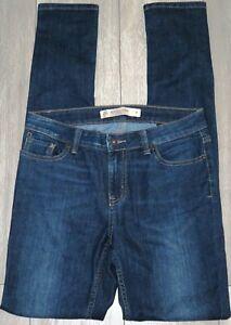 Womens🦋NEXT TALL🦋dark blue stretch relaxed skinny denim jeans size 8