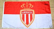 Monaco Flag Banner 3x5 ft AS FC White Red France Football Soccer