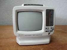 "Gpx ~ 5"" Portable B&W Tv/Am-Fm Radio/Cassette ~ Vintage ~ Model Tvp9-E1"
