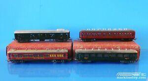 Marklin 351 352 353 354 Car Lot 1945/1946 ALL ORIGINAL BOXES
