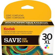 Kodak 30XL Color High Yield Ink Cartridge #1341080 100% Authentic, New & Sealed!