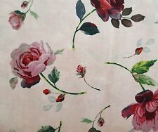 Rosewater BTY Galaxy of Graphics Quilting Treasures Rose Floral Toss Blush Pink