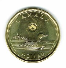 2014 Canadian Brilliant Uncirculated Business Strike $1 Loonie!
