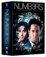 Numb3rs Complete TV Series All Seasons 1-6 Box DVD Set Collection Numbers Shows