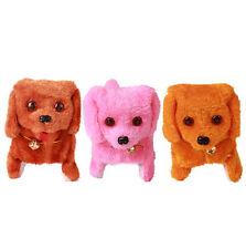 Electric Short Floss Dog Toys Electric Dog Walking Barking Toy Moving Dog Hot!