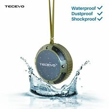 TECEVO Bluetooth Wireless Speaker Outdoor Waterproof For Samsung iPhone Sony LG