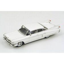 Spark 1959 White Cadillac Fleetwood Sixty Special Sedan 1:43 NIB •