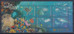 Australien - Michel-Nr. Block 20 V postfrisch/** (Unterwasserwelt / Sea Life)
