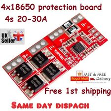 4S 30A Li-ion Lithium Battery 18650 Charger Protection Board Module 14.4V Fad UK