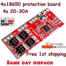 4 S 30 A Li-ion batteria al litio 18650 CARICABATTERIE Protection Board Modulo 14.4 V FAD UK
